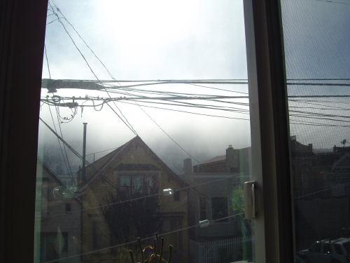 Twin Peaks in the Fog
